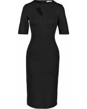 Облегающее платье черное Olga Skazkina