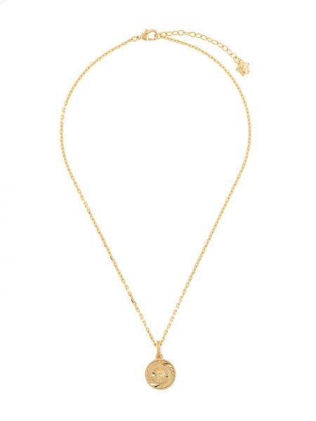 Ожерелье металлический золотой Versace