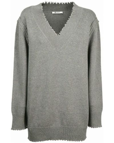 Sweter bawełniany - szary Alexander Wang