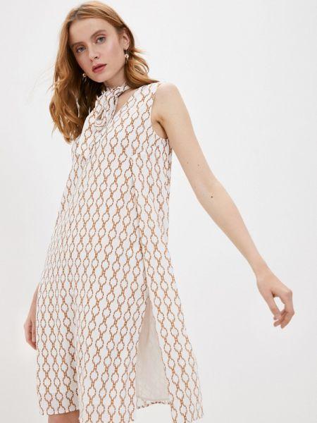 Белое платье Trussardi