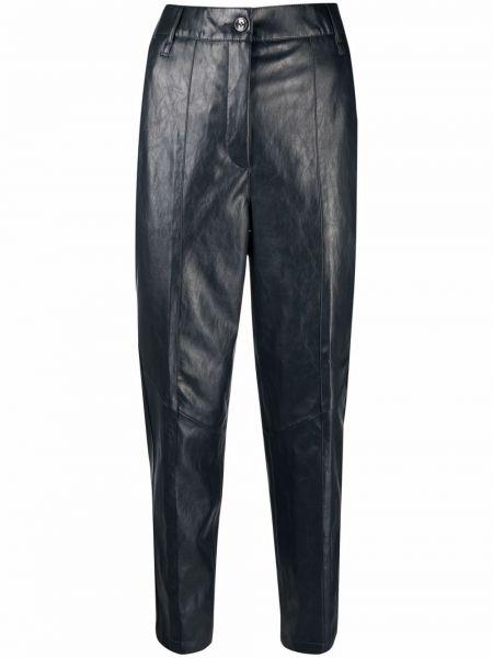 Синие брюки из полиэстера Luisa Cerano