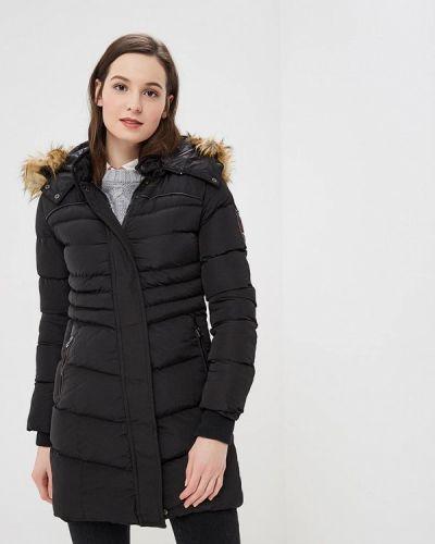 Утепленная куртка - черная Giorgio Di Mare