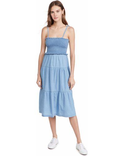 Джинсовое платье миди Madewell