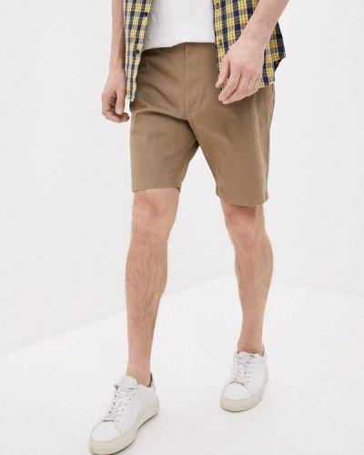 Бежевые повседневные шорты Marks & Spencer