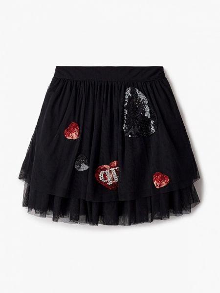 Черная юбка Philipp Plein