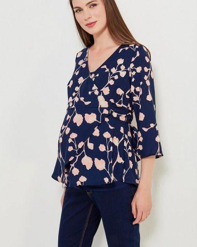 Синяя блузка для беременных Mama.licious