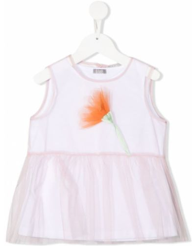 Bluzka tiulowa - różowa Il Gufo