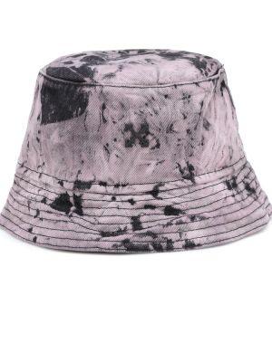 Ватная хлопковая черная шапка Off-white