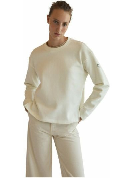 Beżowa bluza dresowa Ecoalf