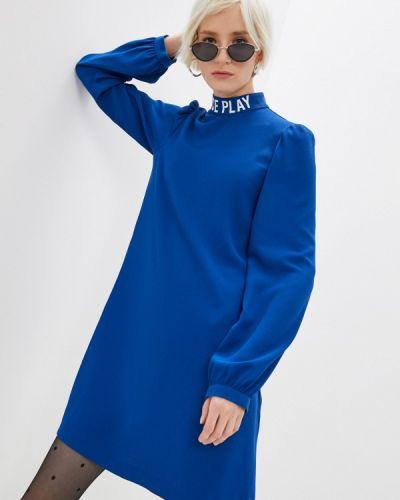 Повседневное синее платье Ice Play
