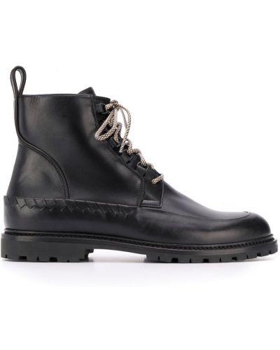Ботильоны кожаный для обуви Bottega Veneta
