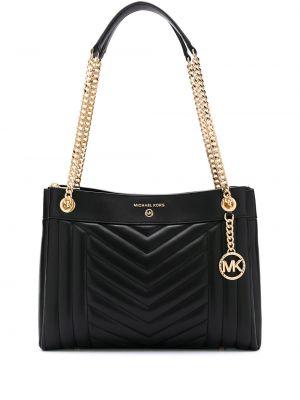 Кожаная сумка на цепочке сумка-тоут Michael Michael Kors
