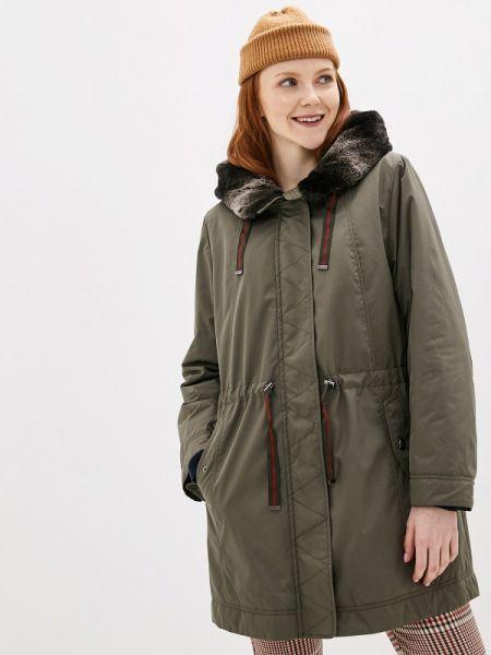 Пальто зеленое осеннее Dixi Coat
