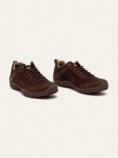 Кружевные туфли на шнурках Caterpillar