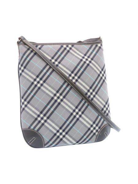 Szara torba na ramię Burberry Vintage