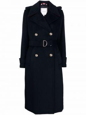 Шерстяное пальто - синее Tommy Hilfiger