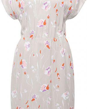 Платье из вискозы бежевое Finn Flare
