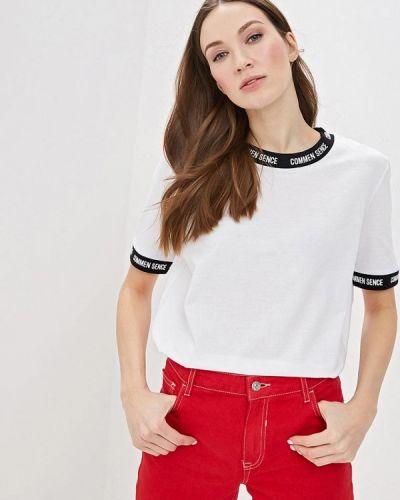 Белая футболка 2019 Sela