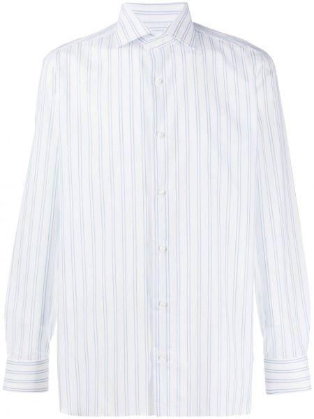Koszula z długim rękawem klasyczna długa Borrelli