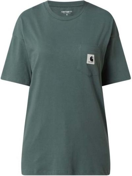 T-shirt bawełniana - zielona Carhartt Work In Progress