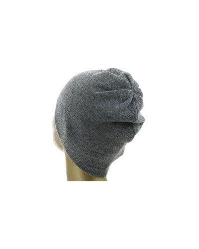 Серая кашемировая шапка Not Shy