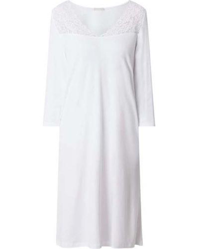 Koszula nocna bawełniana - biała Hanro