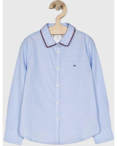 Блуза синий на пуговицах Tommy Hilfiger