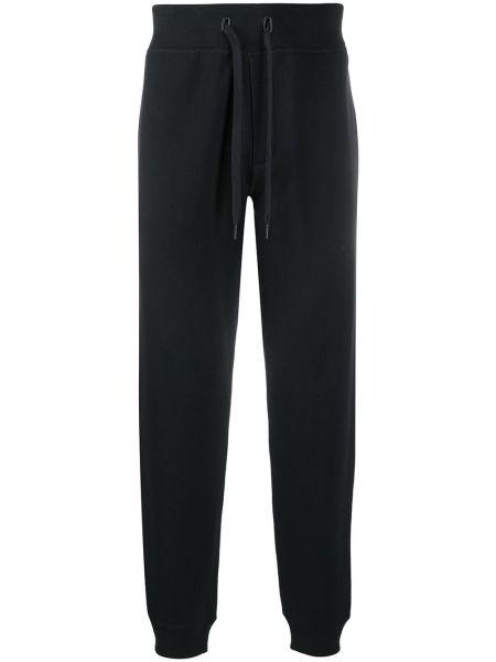 Bawełna spodni czarny spodnie o prostym kroju z kieszeniami Rag & Bone