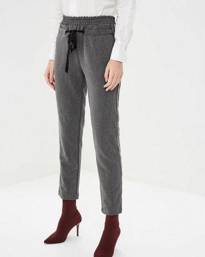 Серые брюки повседневные Rinascimento