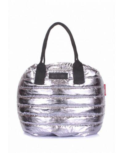 Сумка серебряного цвета Poolparty