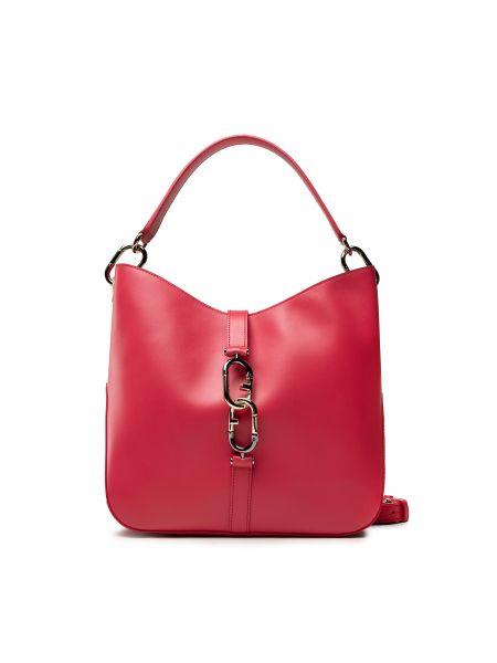 Czerwona klasyczna torebka Furla