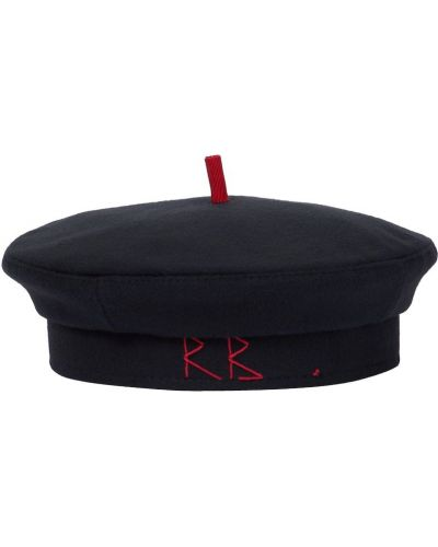 Czarny beret wełniany Ruslan Baginskiy
