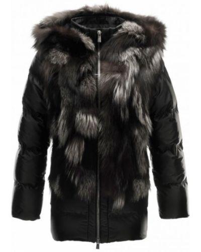 Черная куртка горнолыжная Toni Sailer