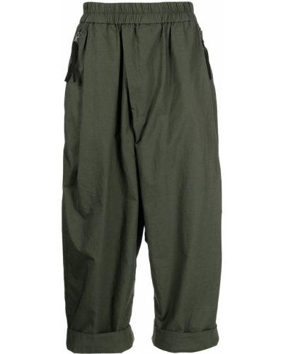 Zielone spodnie bawełniane Julius