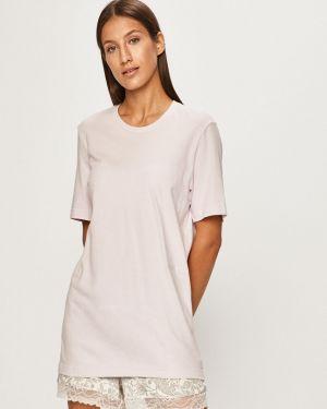Koszula długo różowy Calvin Klein Underwear