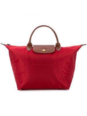 Нейлоновая сумка - красная Longchamp