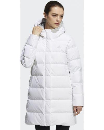 Пуховая куртка - белая Adidas