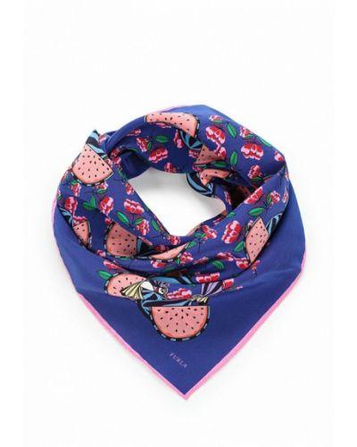 Синий платок носовой Furla