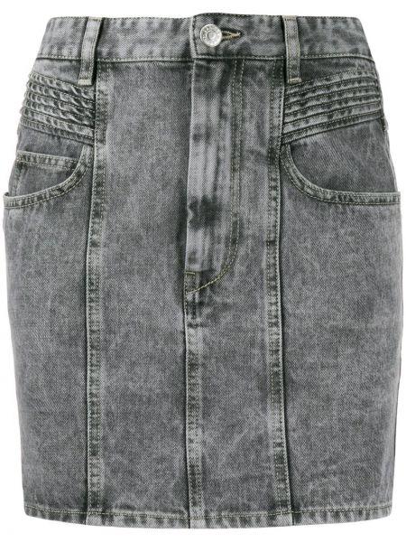 Юбка мини джинсовая на пуговицах Isabel Marant étoile