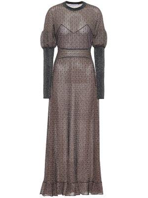 Вязаное платье макси винтажное Chloé