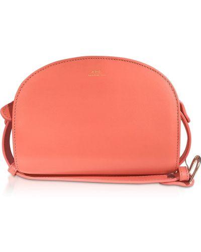 Czerwona torba na ramię A.p.c.