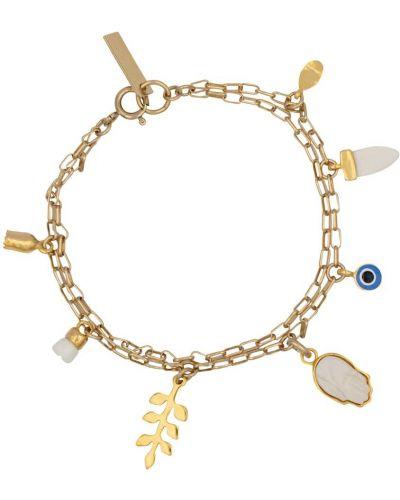 Восточный браслет золотой Isabel Marant