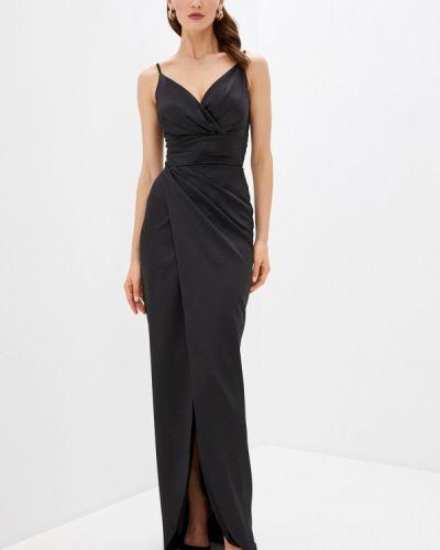 Черное вечернее платье Joymiss