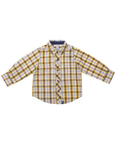 Рубашка на кнопках хлопковая Playtoday Baby