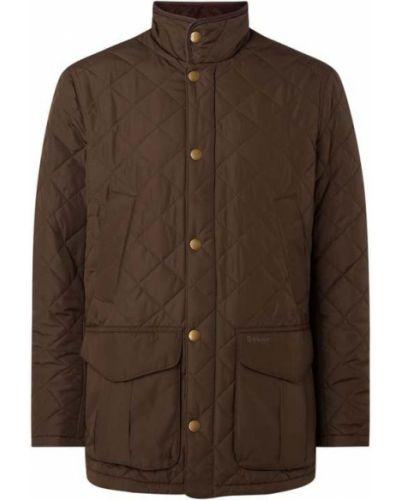 Beżowa kurtka pikowana Barbour