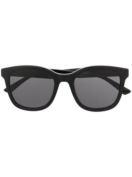 Черные солнцезащитные очки квадратные Bottega Veneta Eyewear