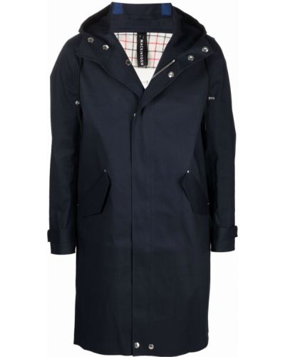 Płaszcz przeciwdeszczowy - niebieski Mackintosh