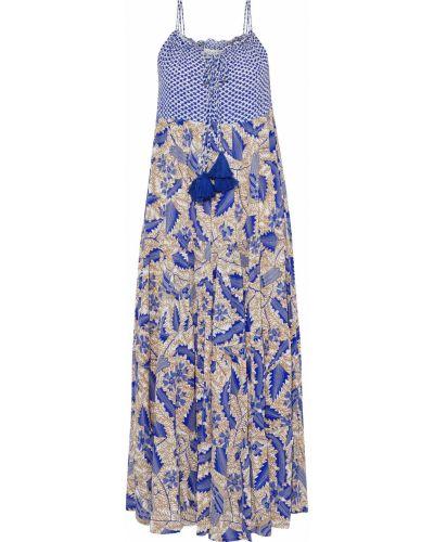 Платье миди - синее Cecilie Copenhagen