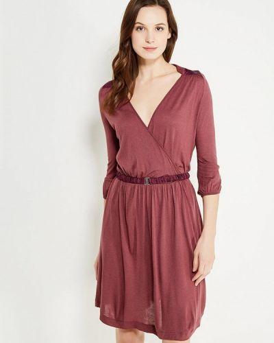 Прямое красное платье Gluen
