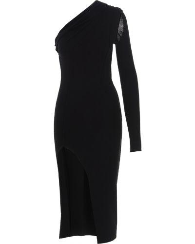 Sukienka midi elegancka - czarna Rick Owens